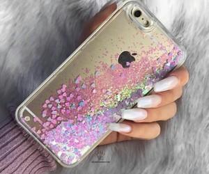 case, glitter, and brillo image