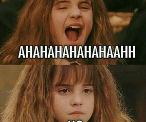 harry potter, funny, and hermione granger image