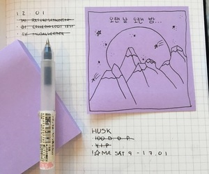 purple, aesthetic, and pink image