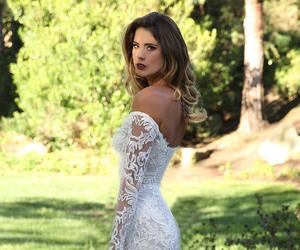 wedding, bridal, and wedding dress image