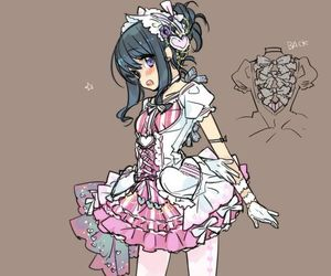anime, clothes, and design image