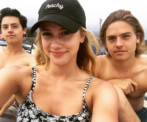 dylan sprouse, cole sprouse, and lili reinhart image