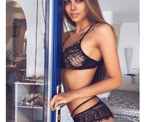 beautiful, beauty, and model image