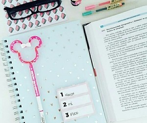 notebooks and love image