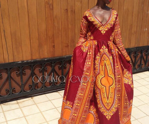 etsy, african dress, and african print dress image