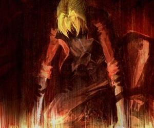 anime, boy, and fullmetal alchemist image