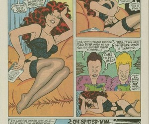 90's, Marvel, and beavis and butthead image