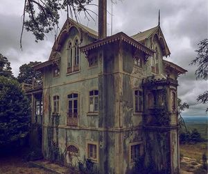 architecture, gothic, and haunted image