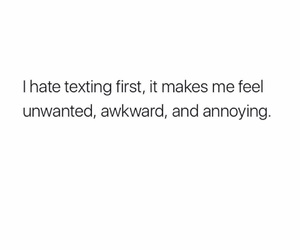 annoying, awkward, and deep image
