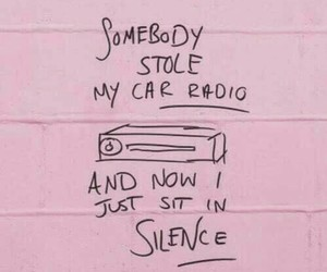 pink, top, and car radio image