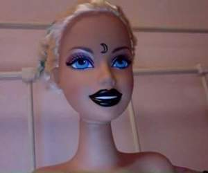 barbie, grunge, and pale image