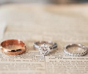 diamond, wedding ring, and husband image
