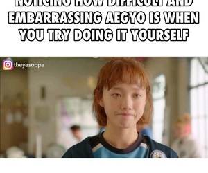 meme, kdrama, and lee sung kyung image