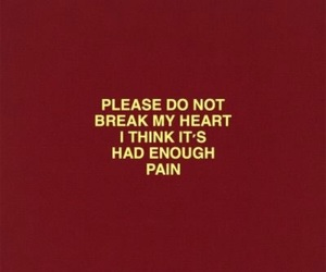 quotes, red, and pain image