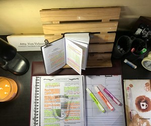 coffee, studying, and study place image