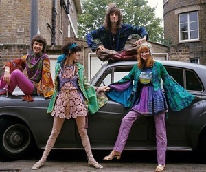 60s, fashion, and hippie image