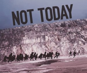 not today and bts image