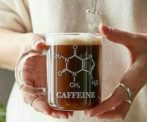 caffeine, coffee, and chemistry image