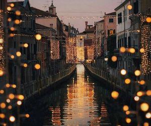 italy, wanderlust, and lights image