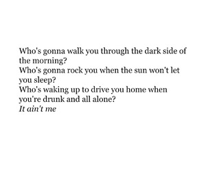 breakup, drunk, and Lyrics image