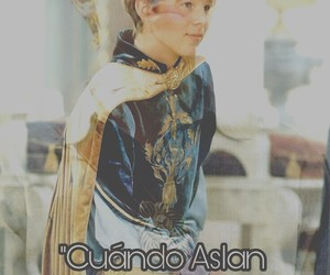narnia, peter pevensie, and frases narnianas image