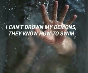 demon, quotes, and bmth image
