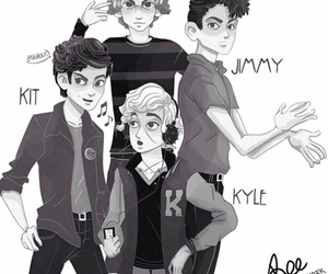 kyle, tate, and ahs image