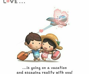 love, vacation, and hj-story image