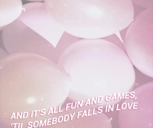 balloons, wallpaper, and words image