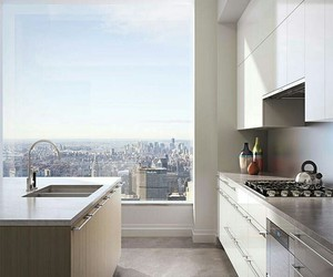 kitchen, city, and new york image