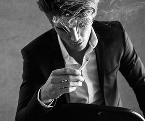 cigarette, twan, and smoke image