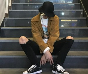 boy, korean, and kfashion image