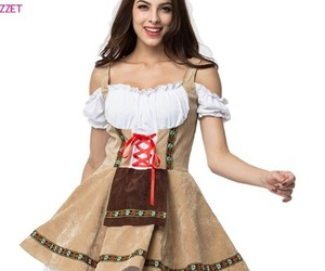 costume, girl, and mujer image