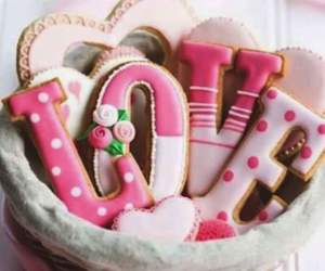 cookie, loves, and sugar image