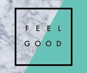 blue, feel good, and iphone wallpaper image