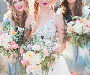 bridesmaids, friendship, and squad image