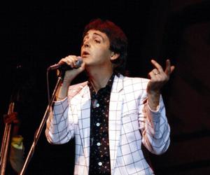 beatles, dark, and Paul McCartney image