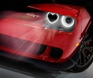 car, fast, and headlights image