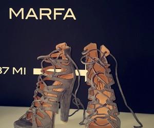 high heels, Prada, and woman image