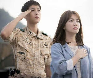 descendants of the sun, kdrama, and song joong ki image