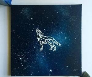 art, wolf, and beautiful image