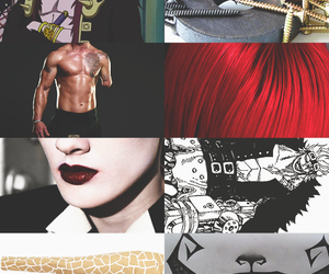aesthetic, anime, and Collage image