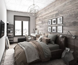 bedroom, home, and decoration image
