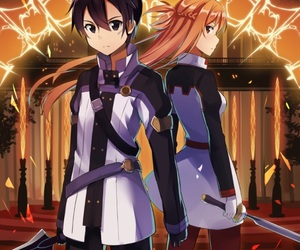 anime, manga, and sword art online image