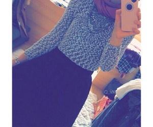 hijab, style, and رمزيات بنات image
