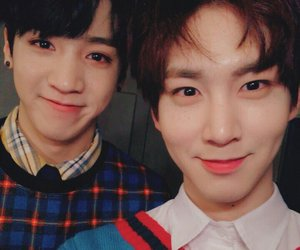 shinwon, wooseok, and kino image
