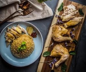 Chicken and rice image