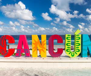 cancun, fun times, and vacation image