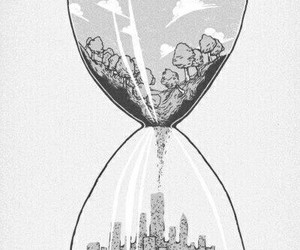 nature, city, and time image