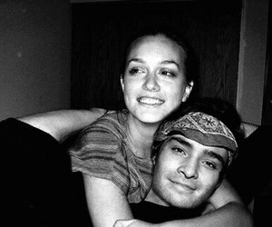 gossip girl, leighton meester, and ed westwick image